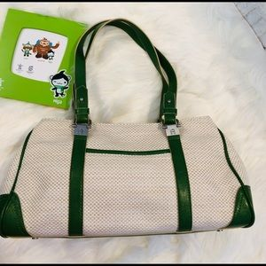 Etienne Aigner Satchel Freeport Collection Bag